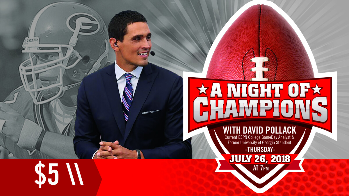 A Night of Champions with David Pollack