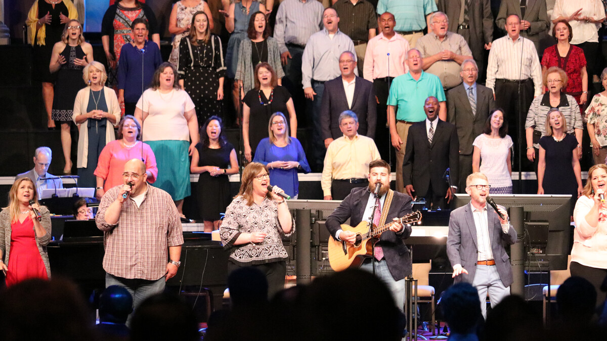 Father's Day Worship Choir