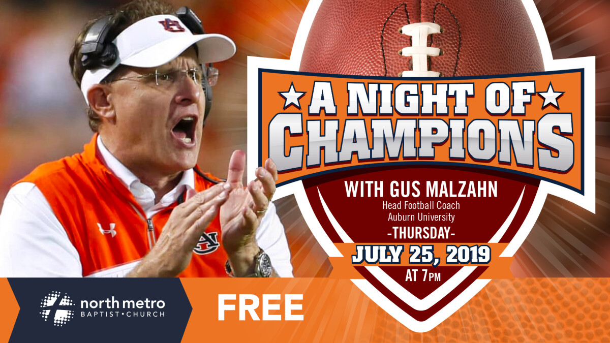 Night of Champions with Gus Malzahn
