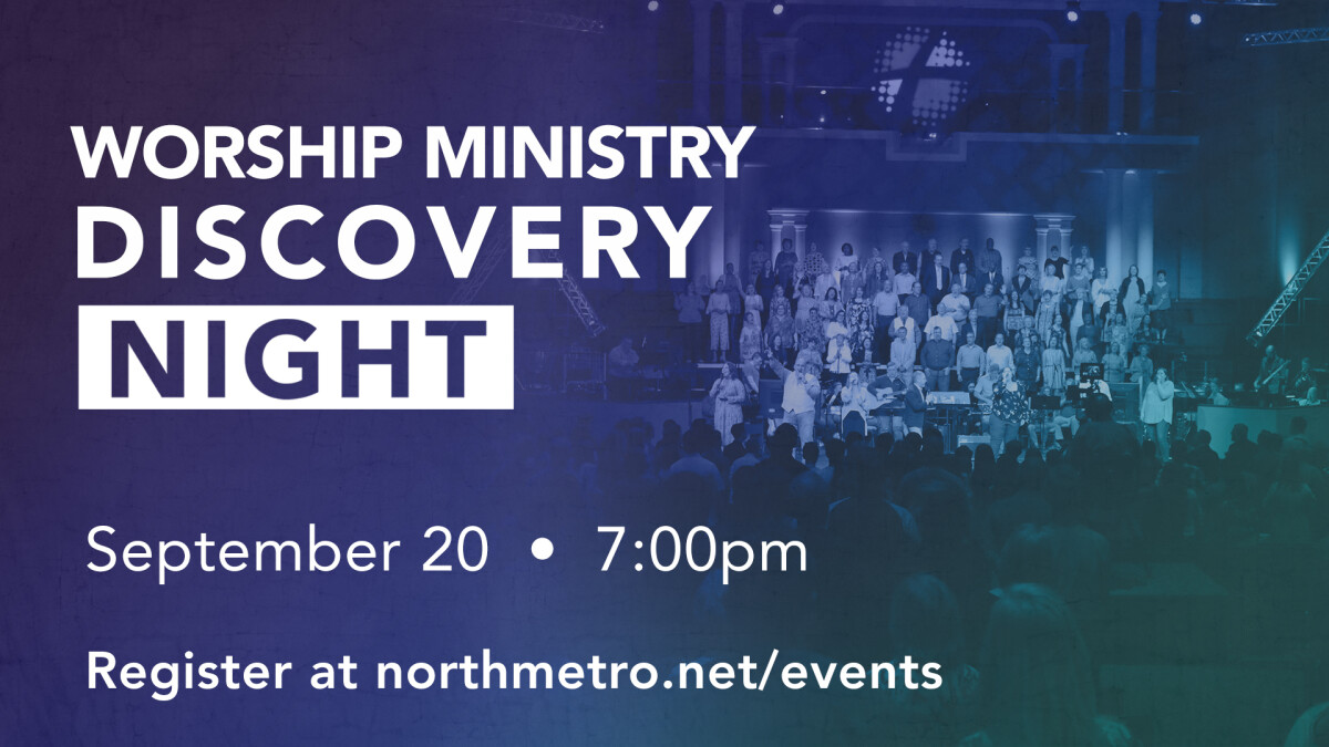 Worship Ministry Discovery Night