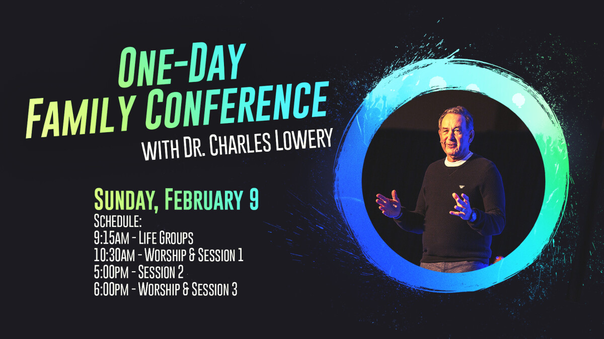 One-Day Family Conference with Charles Lowery