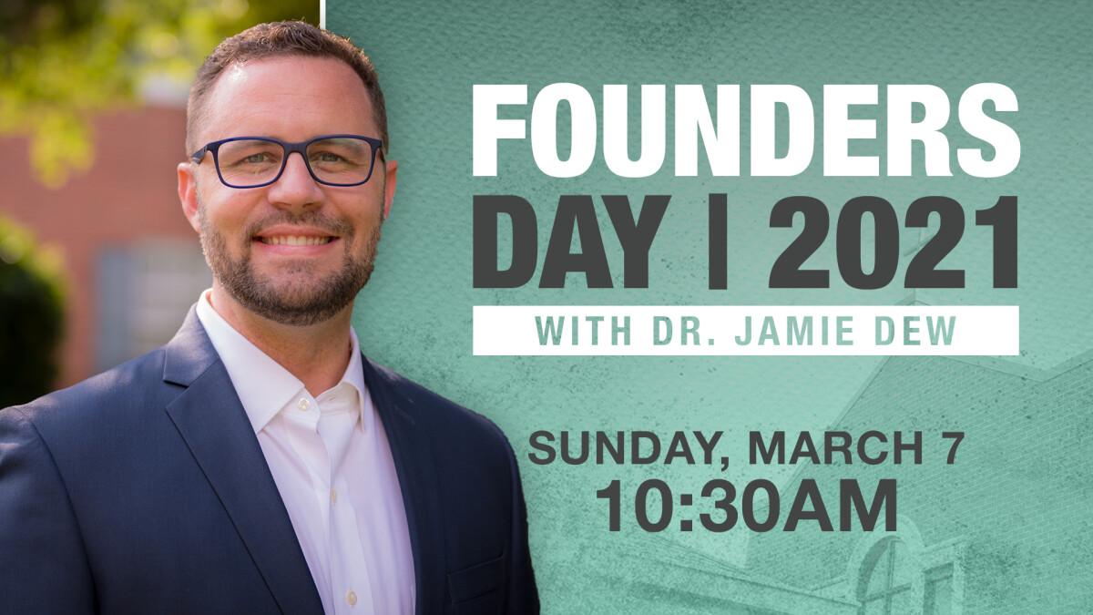 Founders Day with Jamie Dew