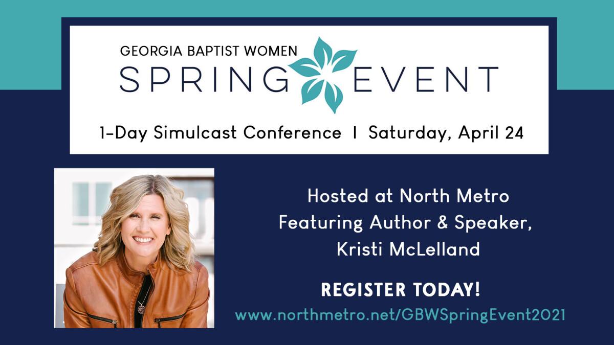 Georgia Baptist Women - Spring Event